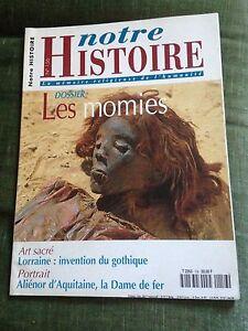 Notre-histoire-Dossier-les-momies-n-156-juin-1998