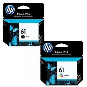 Genuine-OEM-HP-61-Black-Tri-Colour-Ink-Cartridge-Combo-Set-CH561WN-CH562WN