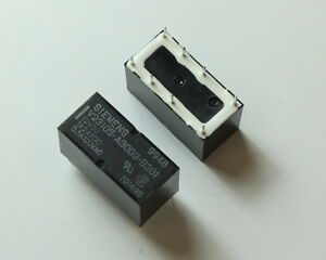 12VDC Coil DPDT Miniature PC Relay