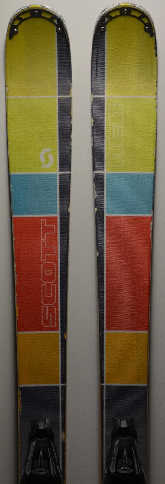 Esquís parabólico usado SCOTT Neo - 186cm