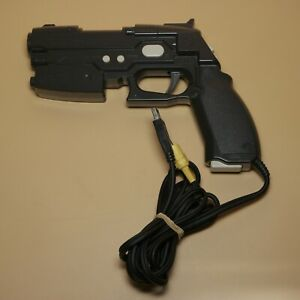 PlayStation-2-Light-Gun-Con-Namco-NPC-106-PS2-Guncon-Made-in-Japan-Black