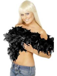 DELUXE-FEATHER-BOA-BLACK-SEXY-WOMENS