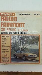 gregorys sp no 165 ford falcon fairmont xd 6 cylinder 1979 1980 rh ebay com au