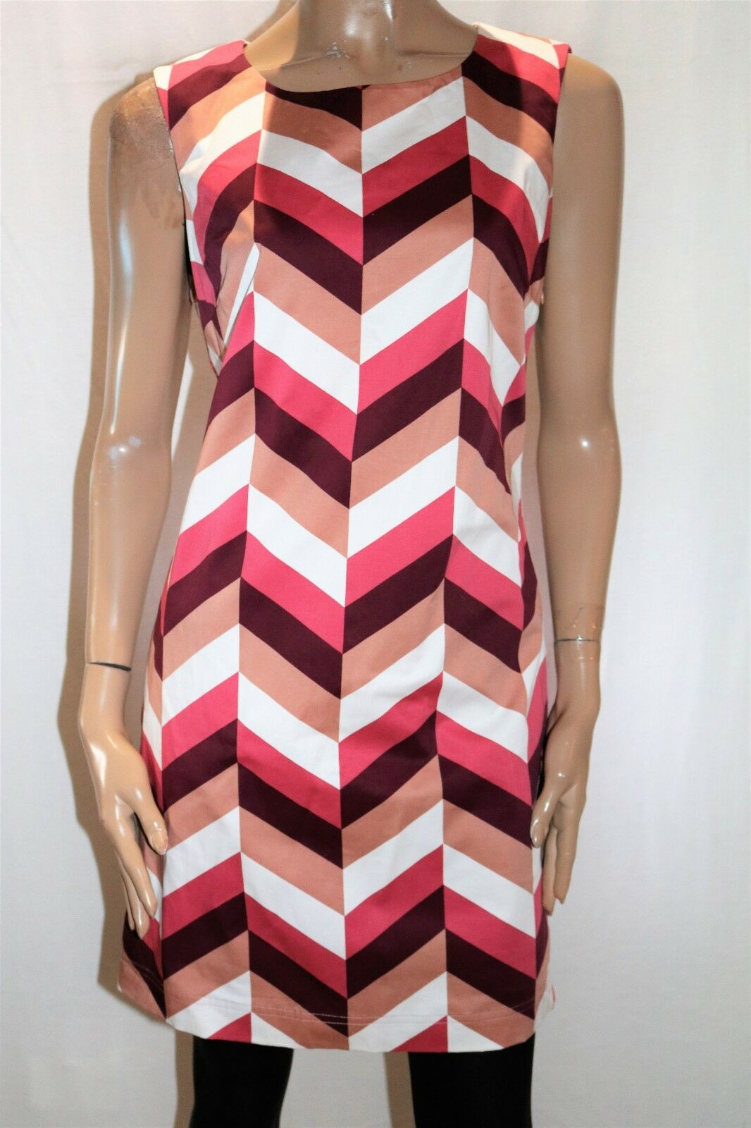 Edc Brand Multi Colours Sleeveless Day Dress Size L BNWT  TT76