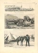 Boer War Guerre Transvaal South Africa Mafeking Baden-Powell ANTIQUE PRINT 1900