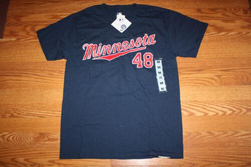 NWT Mens Major League Genuine Merchandise Navy MINNESOTA TWINS Hunter Shirt XL