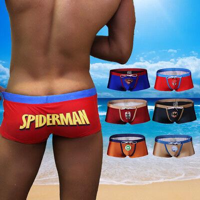 Men/'s Superman Swim Shorts Swimming Trunks Beachwear Underwear Surf Boardshorts