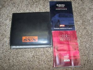 1994 subaru svx manual