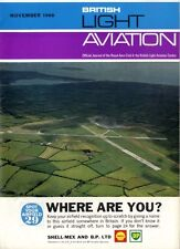 LIGHT AVIATION MAGAZINE 1966 NOV YAK 18PM, 4TH WORLD AEROBATICS CHAMPIONSHIPS