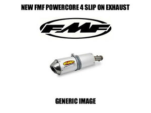 FMF Racing Powercore 4 Slip-On Exhaust Anodized #044300 Yamaha YFZ450R//YFZ450X