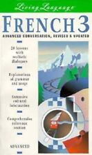 French 3: Advanced Conversation -- Revised and Updated (book) (Living Language)