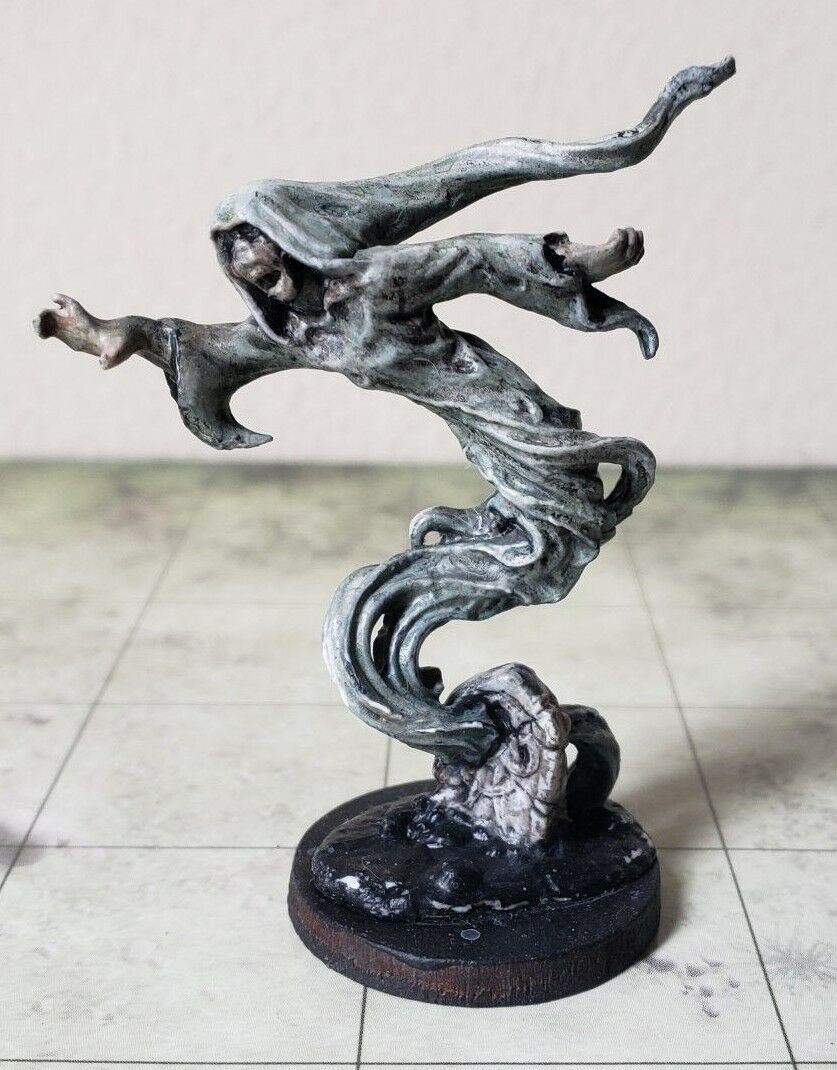 Dungeons and dragons ghost miniature, pro painted, unused