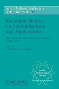 Recursion-Theory-Its-Generalisations-and-Applications-Proceedings-of-Logic-Co