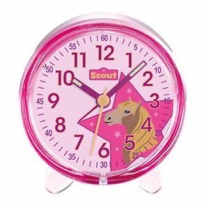 Scout Enfants Réveil Alarme Favoris Pays Cheval Rose Fille 280001028