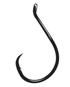 FISHING HOOKS GAMAKATSU OCTOPUS CIRCLE OFFSET POINT 6 sizes bait lure hooks