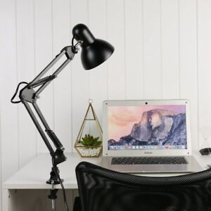 Flexible-Table-LED-Lamp-Swing-Arm-Mount-Clamp-Lamp-Home-Office-Studio-Desk-Light