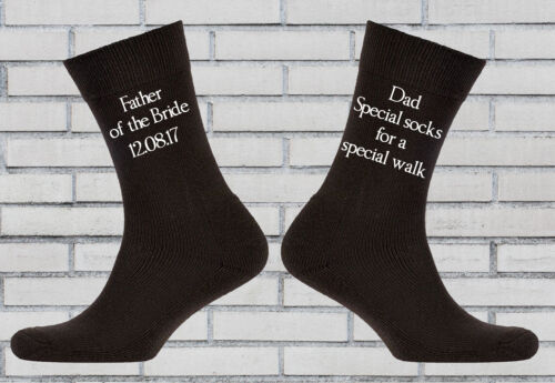 Dad gift, Father Father of the bride socks Special socks for a special walk