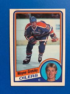 Wayne-Gretzky-1984-85-243-O-Pee-Chee-Hockey-Card-Edmonton-Oilers-OPC