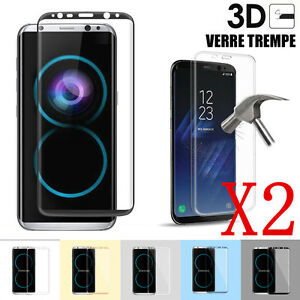 Vidrio Lámina Protección Pantalla Templado Integral Samsung S8 Plus S9 10 S20