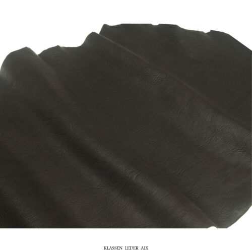 Rindsleder Cognac 2,5 mm Dick Braun Echt Leder Stück Leather 84