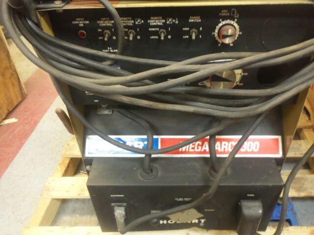 Hobart R-300-s Mega-arc 300 Amp Stick Welder Duty Cycle 60 3ph 230/460  Tested