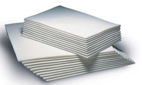 Bandage Leg Pads White Synthetic Large /& Small Sizes Available