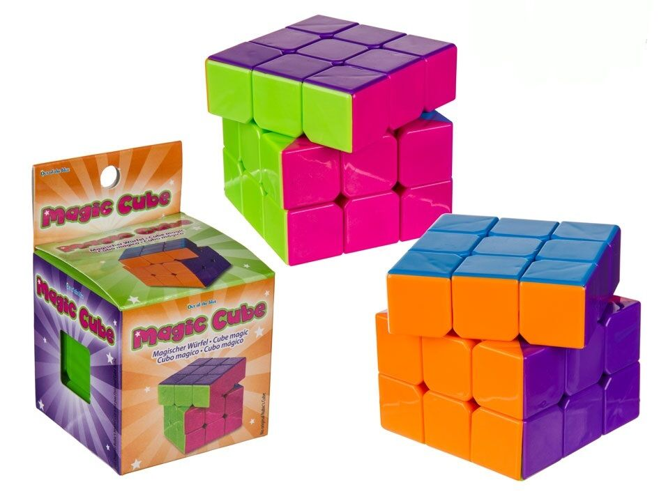 Magic Cube Puzzle Brain Teaser Mind Bending Smooth Toy Twist Logic Game Toy Smooth Gift d6977e