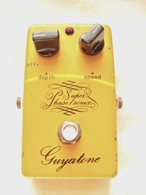 Guyatone Super Phase Sonix PS-101 vintage 1970's phaser pedal Japan