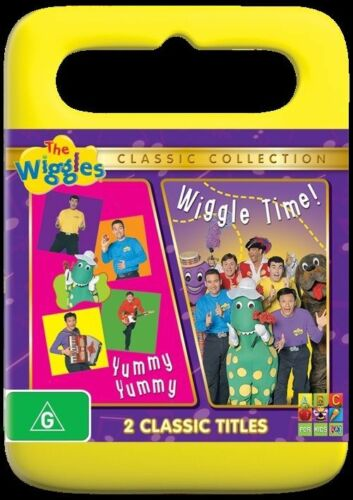 1 of 1 - The Wiggles - Wiggle Time! / Yummy Yummy (DVD, 2011) New & Sealed
