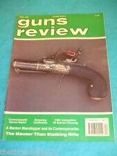 GUNS REVIEW - MAUSER TITAN STALKING RIFLE - APRIL 1990 VOL 30 # 4