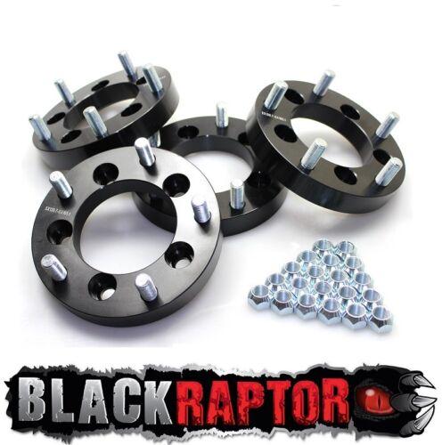 Black Raptor Suzuki to Land Rover 30mm Wheel Spacer Adapters
