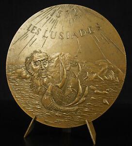 Medaglia-i-Lusiadas-Poema-Epico-Della-Luis-Camoes-Portogallo-Impero-Portoghese