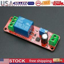 5pcs Dc 12v Delay Relay Shield Ne555 Timer Switch Adjustable Module