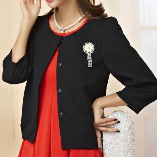 Womens Ladies Top Blouse Cardigan Dress Jacket Coat AU Size 10 12 14 16 18 #3499