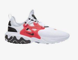 Nike React Presto White Black