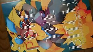 Doujinshi Pokemon (b5 26pages Fullcolor) Poke The Bixch Furry Kemono Jyunintoiro Soyez Amical Lors De L'Utilisation