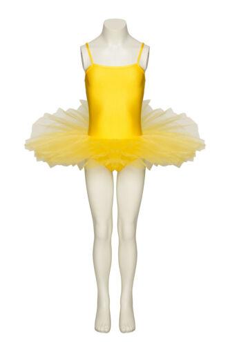 Yellow Dance Fairy Ballet Full Tutu Leotard All Sizes By Katz Dancewear