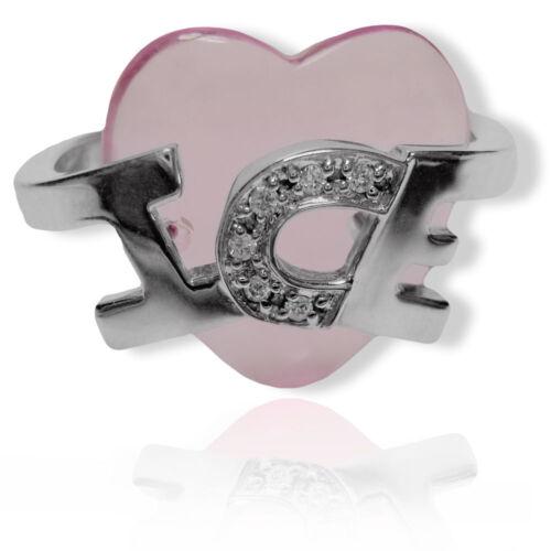 Schmuck Verlobungsring Silber *NEU* ICEBERG Herz Damen Ring Damenring