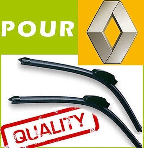 2 BALAIS ESSUIE GLACE AERO pour Renault Trafic 1980-2001