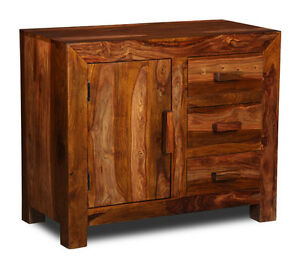 Image Is Loading Cuba Sheesham Small Sideboard C4w