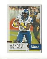 2016 Classics Glossy #263 Wendell Smallwood Rookie West Virginia Eagles