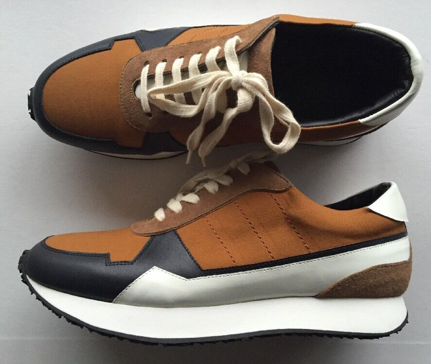WOOYOUNGMI SUEDE TRIMMED TRAINERS UK 6  (FITS UK 5 US 6 EU 39)