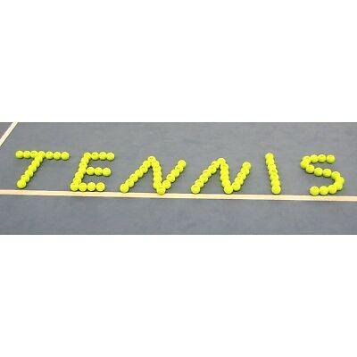100 gebrauchte Tennisbälle aus dem Trainingsbestand