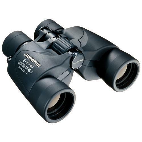 OLYMPUS Binocolo 8-16x40 Zoom DPS I Colore nero