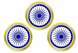 Ashoka-Chakra-Hindou-Marqueurs-de-Balles-de-Golf