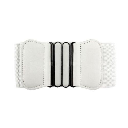 Women/'s Fashion Wide Dress Belt Vintage Style Waistband Ladies Cummerband