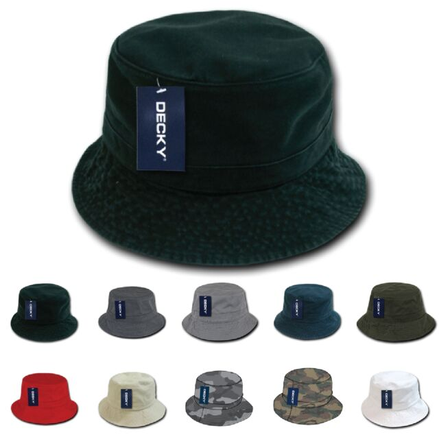 DECKY Plain Blank Fisherman s Polo Bucket Hat 961  b4a97e573a0