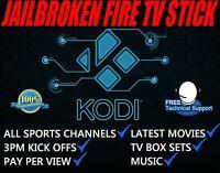 Amazon Fire TV Stick. & Kodi Fully Loaded✅ Sports✅ TV Shows✅ Movies✅  Mobdro✅