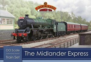 Bachmann-30-285-Midlander-Express-OO-1-76-Scale-Train-Set-Hornby-Compatible