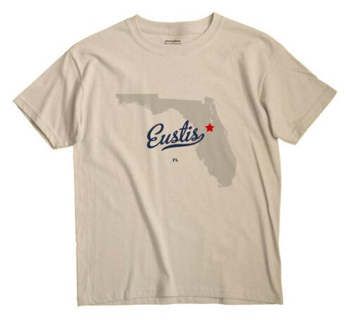 Eustis Florida FL T-Shirt Souvenir MAP